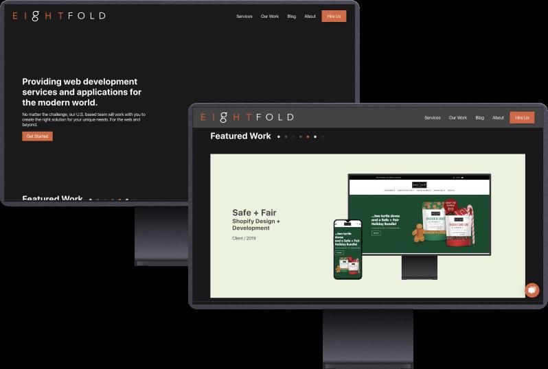 Eightfold Technology Website