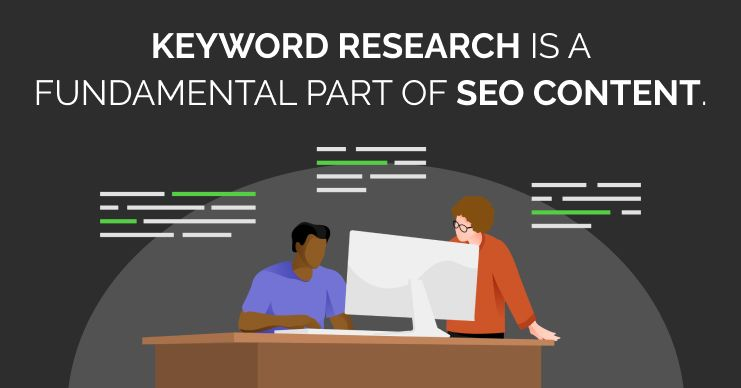 keyword research is an important part of SEO, though it is not the only important aspect